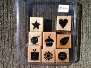 Stampin Up! Darling Dots stamp set