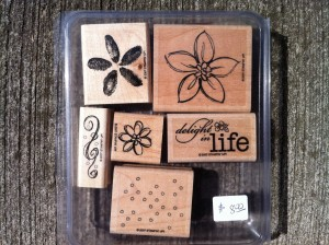Stampin Up Delight in Life stamp set