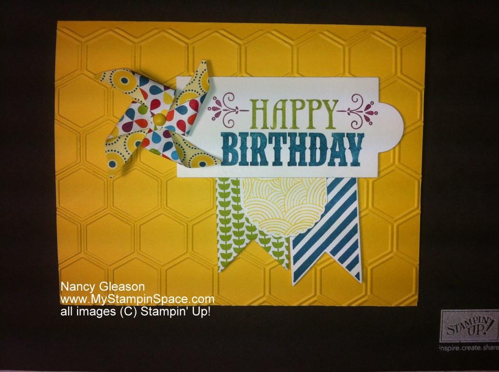 Pinwheel Die,Hearts a Flutter Framelits Dies, birthday cards