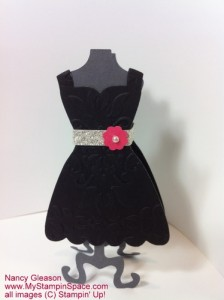 All Dressed Up Lipstick Holder Black Front View