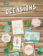 2017 Stampin' UP! Occasions Catalog