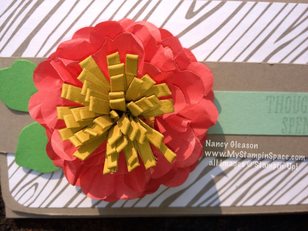 cotton paper flower