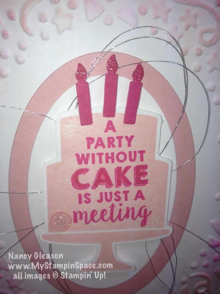 Party Wishes, Wink of Stella, Nancy Gleason, My Stampin Space