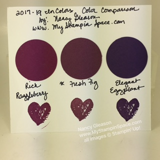 Fresh Fig   Color Comparison