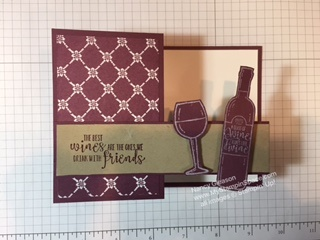 Half Full stamp set by Nancy Gleason My Stampin Space