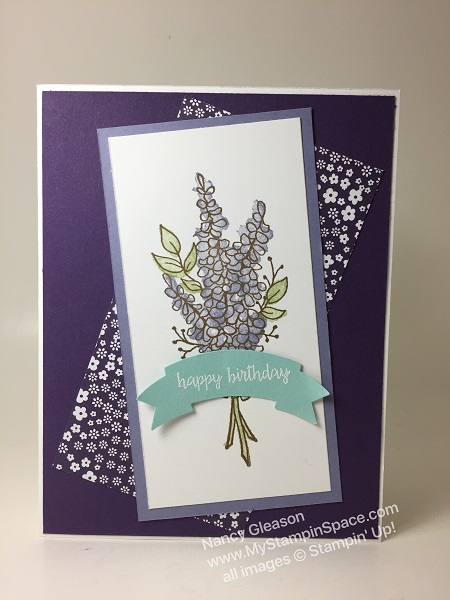 Lots of Lavendar with Sentiment