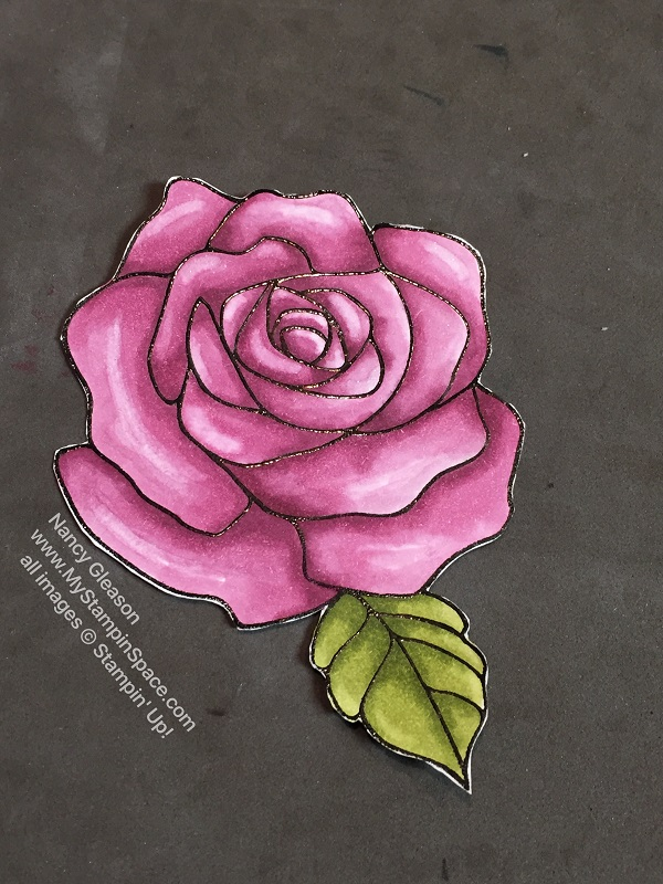 Rose Wonder Meets Stampin' blends