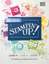 2018-19 Annual Stampin' Up! catalog