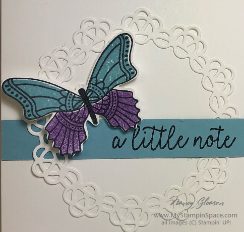 My Stampin Space • A place for you to hang out & learn