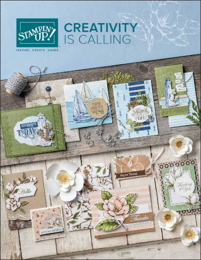 2019-20 Stampin UP! Annual Catalog