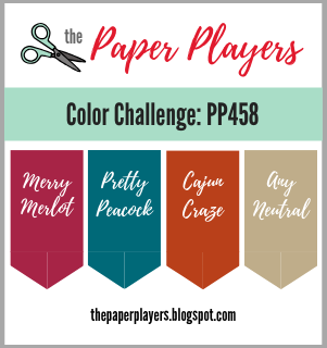 the Paper Players Color Challenge PPA458