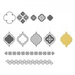 Mosaic Madness Stamp Set & Punch Bundle Clear # 130249      Wood # 130246