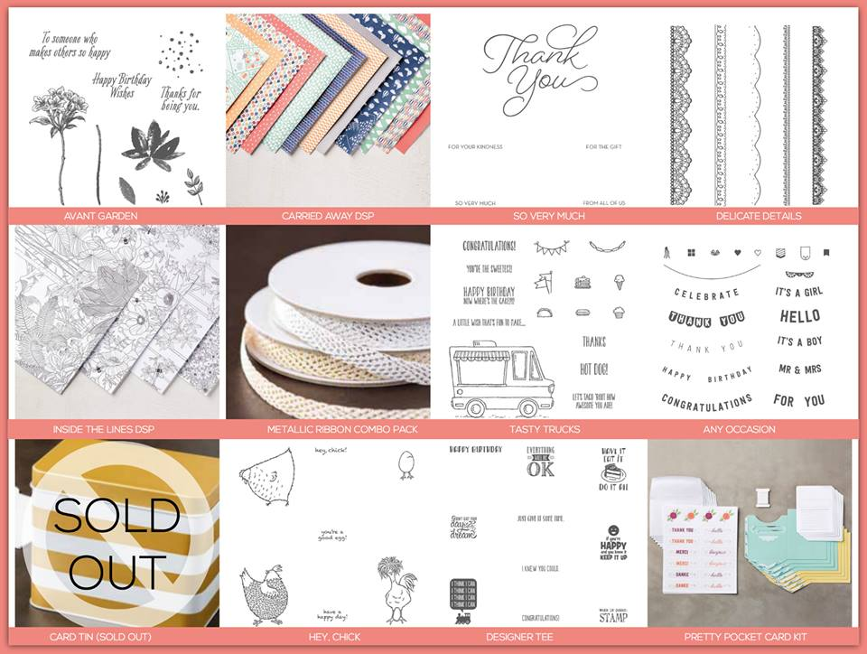 All the Sale-A-Bration items in one place