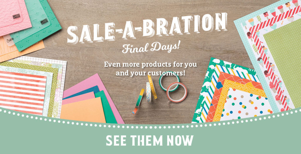 New Items Added to Sale-A-Bration