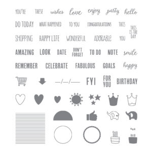 Tabs For Everything stamp set