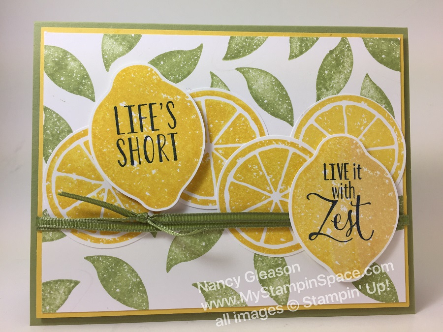 Life is Short... Live It With Zest! Cut it out with the Lemon Builder Punch