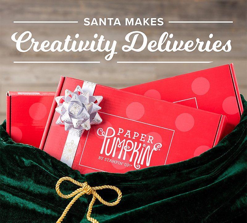 Santa makes Creativity Deliveries