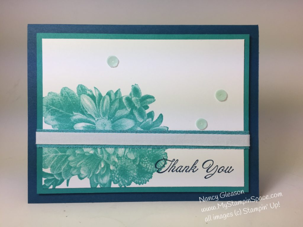 Heartfelt Thanks using Heartfelt Blooms