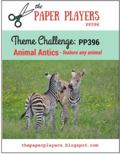 Paper Players Theme Challenge Animals PP396