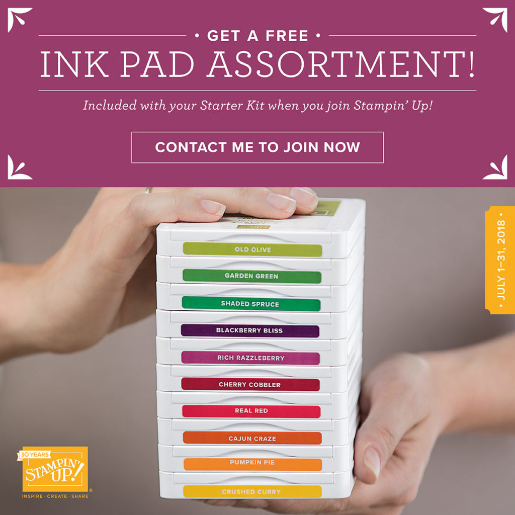 Ink Pad Family free when you join