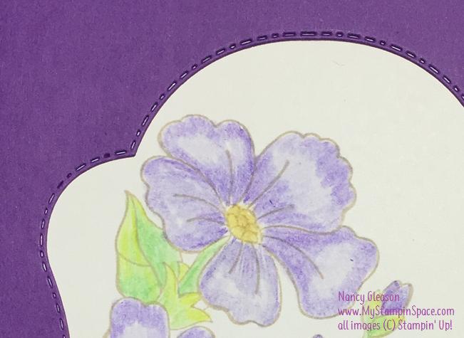 Nancy Gleason, My Stampin Space, Stitched Seasons Framelits dies, Blended Season stamp set