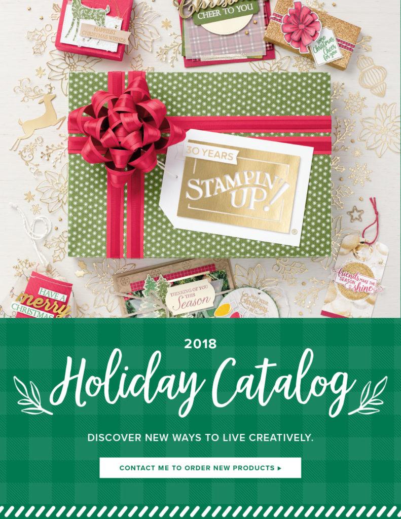 2018 Stampin' Up! Holiday Catalog