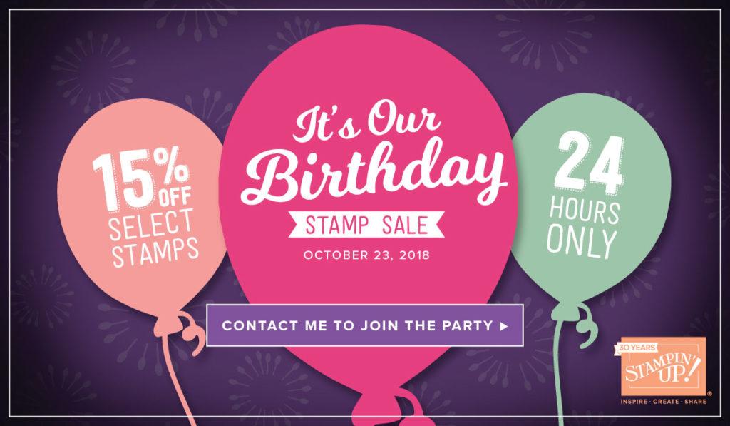24 hour birthday stamp sale