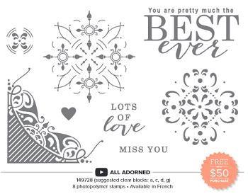 All Adorned Stamp Set Sale-A-Bration 2nd Release