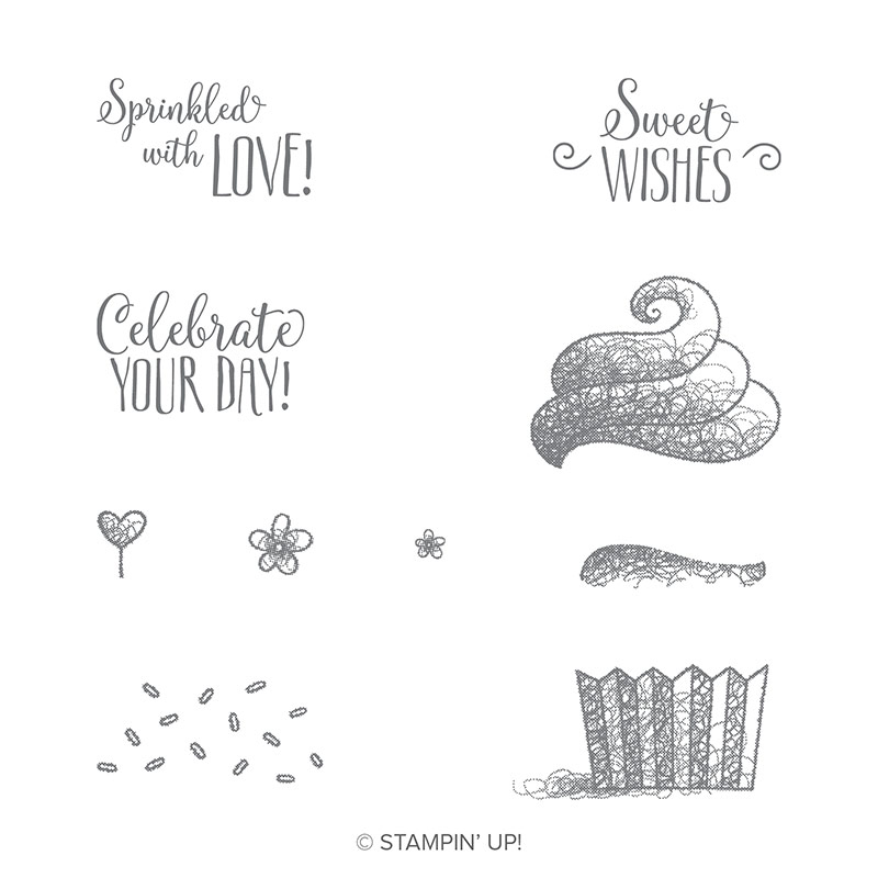 Hello Cupcake stamp set by Stampin' UP!