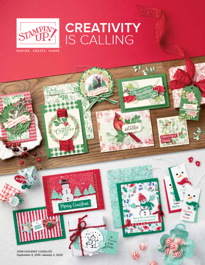 2019 Stampin' UP! Holiday Cover