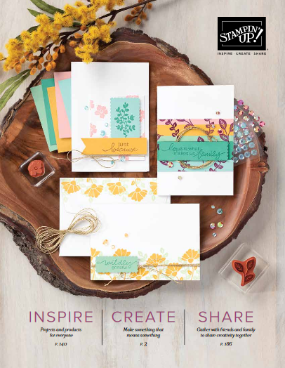 2020-21 Stampin' Up! Annual Catalog cover