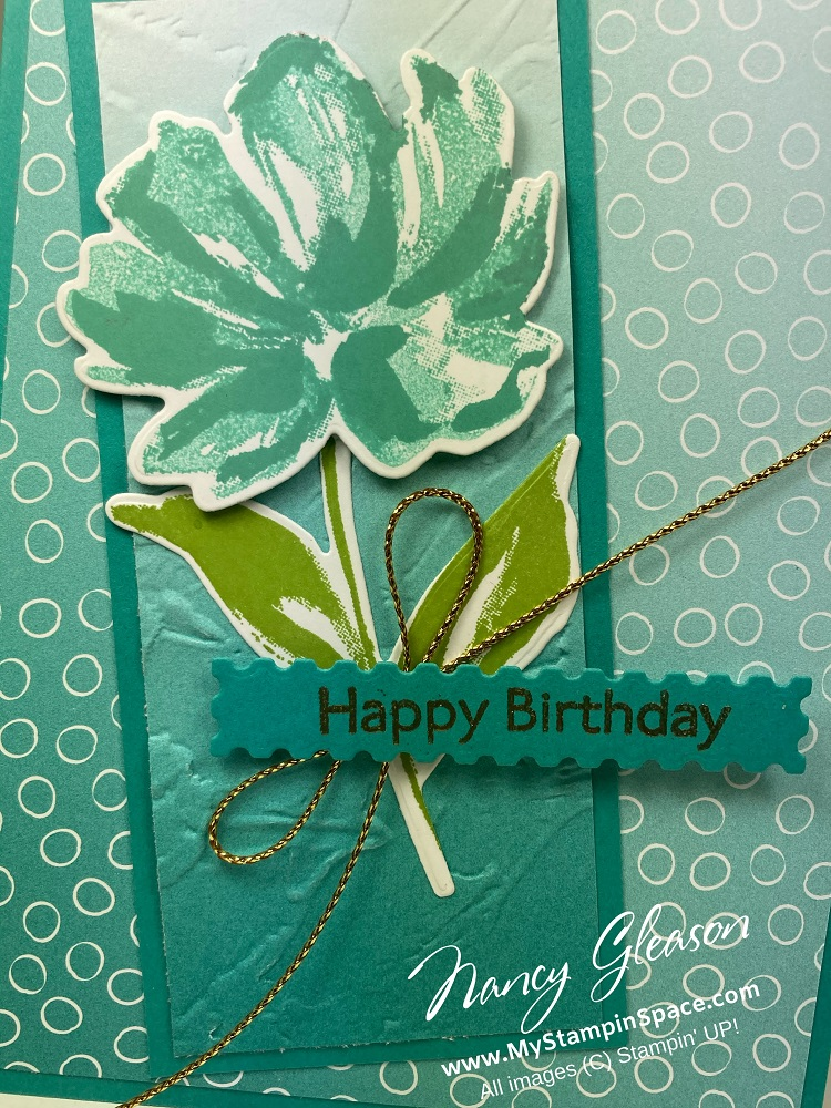 Painted Texture 3D Embossing