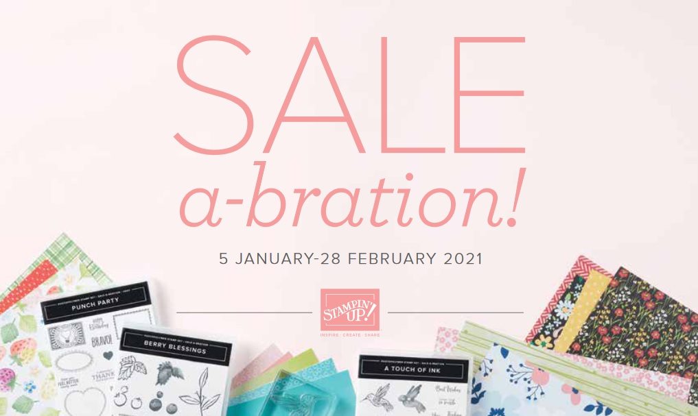 Jan-Feb 2021 Sale-A-Bration catalog